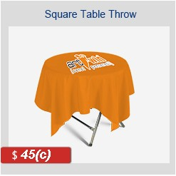 "SQUARE Tablecloth 29"" H x 31.5"" D"